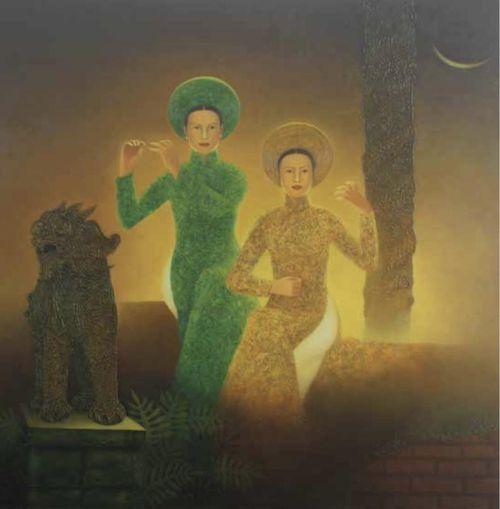 Tìm tiếng 'Thời gian' cùng họa sĩ Lê Văn Nhường