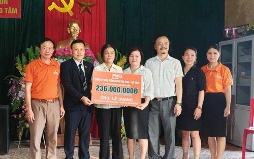 BRICS Việt Nam - FWD chi trả bảo hiểm 236 triệu đồng cho khách hàng