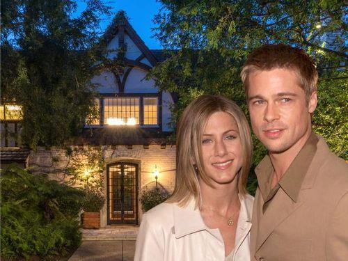 Biệt thự cũ của Jennifer Aniston và Brad Pitt giá 44,5 triệu USD