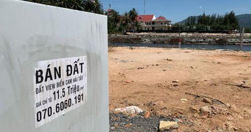San lấp đầm để bán đất nền ở ven đầm Thủy Triều