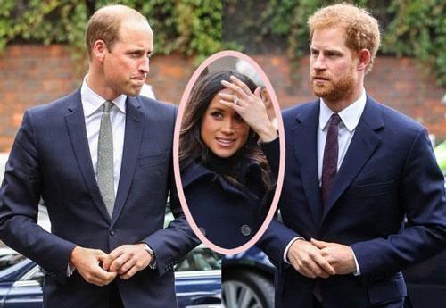 Harry và anh trai William khó lòng hàn gắn rạn nứt, nguyên nhân đều bắt nguồn từ Meghan