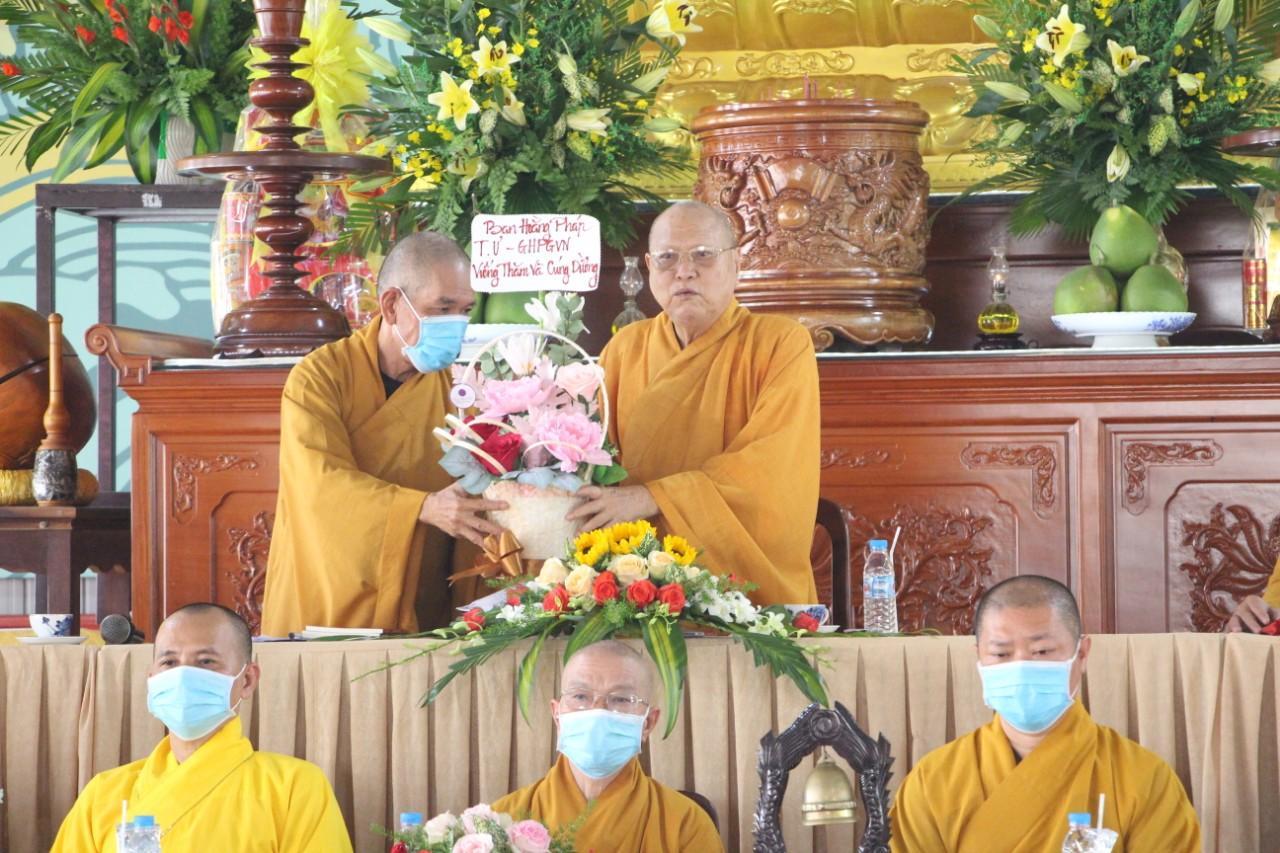 Đồng Nai : Tiếp đoàn ban ngành T.Ư tại chùa Tỉnh Hội