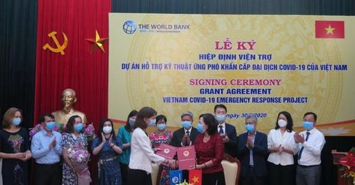 New Emergency Response Project will Help Vietnam Cope with COVID-19