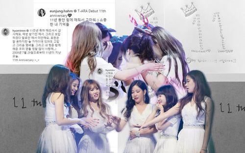 11 năm T-ara: Khóc, cười đủ cả... quan trọng là các cô gái trên con đường riêng nhưng luôn hướng về nhau