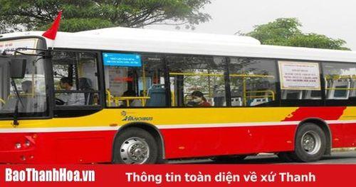Khôi phục tuyến xe buýt TP Thanh Hóa - Đền thờ Lê Hoàn