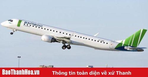 Hình ảnh của máy bay phản lực thế hệ mới Embraer E195 được cho là sắp sử dụng để khai thác đường bay Côn Đảo