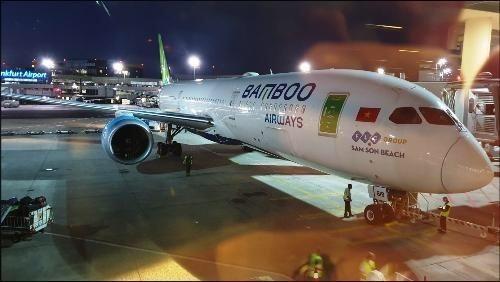 Chuyến bay đặc biệt đầu tiên về từ Frankfurt, kết nối Việt Nam - châu Âu
