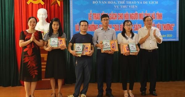 Trao giải cuộc thi 'Gia đình đọc sách - gắn kết yêu thương'