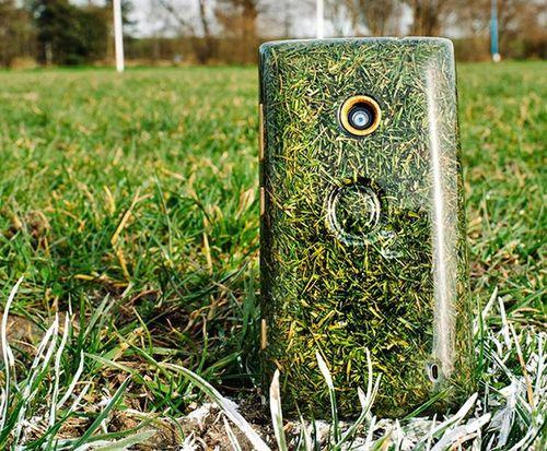 Top 6 điện thoại cực dị đến từ tương lai: Smartphone làm từ... cỏ