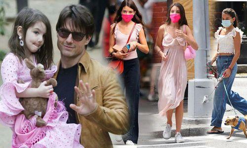 Không còn nhận ra con gái Tom Cruise ở tuổi 14, vì quá xinh đẹp và thần thái