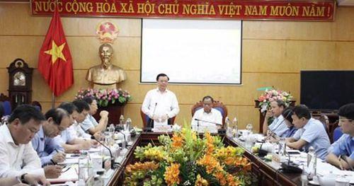 Chùm ảnh Bộ trưởng Đinh Tiến Dũng làm việc tại 3 tỉnh miền Bắc