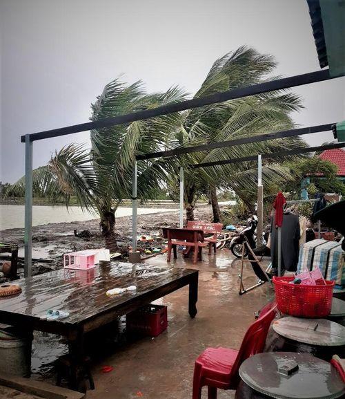 Kiên Giang: Hơn 400 căn nhà đổ sập, hư hỏng do ảnh hưởng của bão số 2