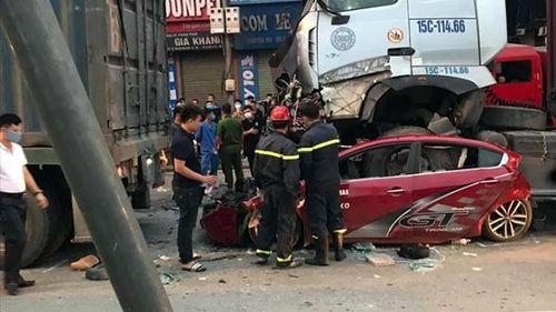 Tai nạn kinh hoàng lúc rạng sáng khiến 3 người chết, 1 người bị thương