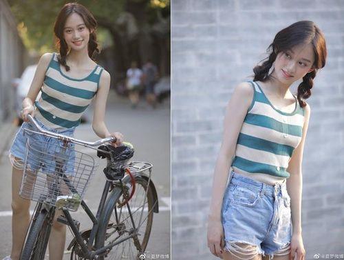 Nhan sắc người đẹp 18 tuổi vụt sáng nhờ đỗ thủ khoa ba ngành đại học Trung Quốc
