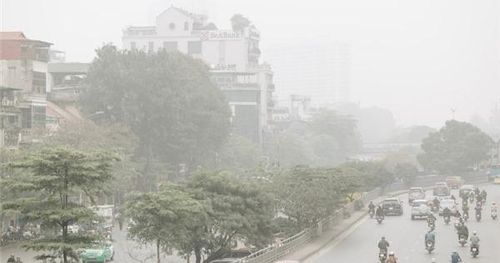 Không khí Hà Nội ô nhiễm nghiêm trọng
