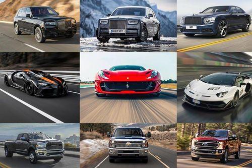 Top 10 mẫu xe sở hữu động cơ lớn nhất năm 2020 (P1)