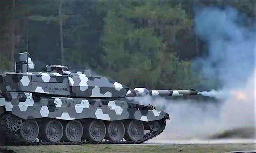 Pháo NG 130 - 'Khắc tinh' tăng Armata và T-90