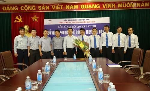 EVNNPT bổ nhiệm Phó Giám đốc PTC3
