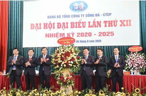 Đại hội Đảng bộ Tổng Công ty Sông Đà - CTCP: Xác định nhiều nhiệm vụ trong nhiệm kỳ 2020- 2025