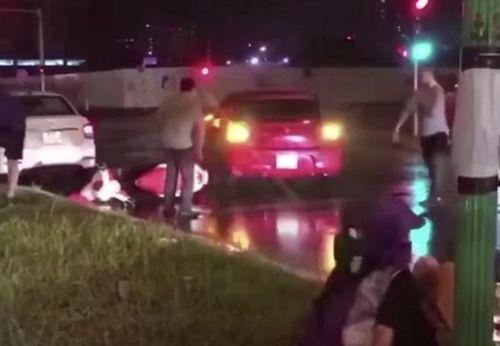 Tìm được lái xe gây tai nạn cho nhiều phương tiện khác rồi bỏ chạy