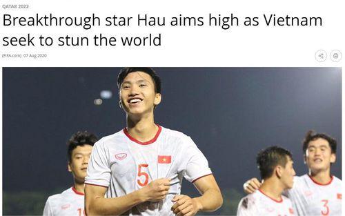 Văn Hậu tự tin cùng đội tuyển Việt Nam tạo nên nhiều bất ngờ