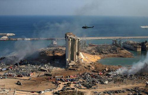Tổng thống Pháp tới thăm Beirut
