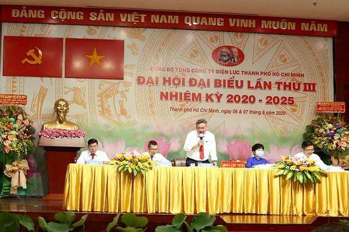 EVNHCMC tổ chức thành công Đại hội đại biểu Đảng bộ Tổng Công ty lần thứ III, nhiệm kỳ 2020-2025