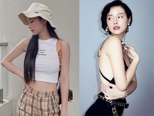 Jun Vũ mặc áo khoe eo thon, Khánh Linh diện phụ kiện Chanel đắt đỏ