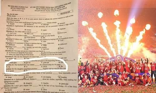 Vì sao fan Liverpool 'phát cuồng' với đề thi tốt nghiệp THPT môn Anh năm 2020?
