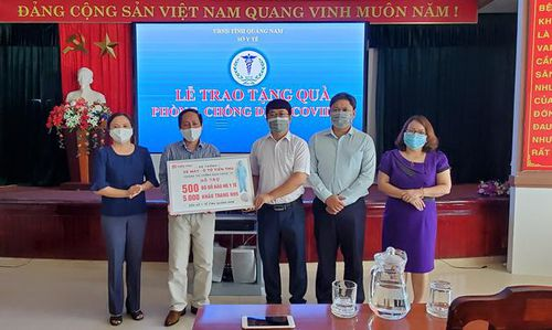 Hệ thống xe máy – ô tô Tiến Thu hỗ trợ thiết bị phòng dịch cho Sở Y tế Quảng Nam