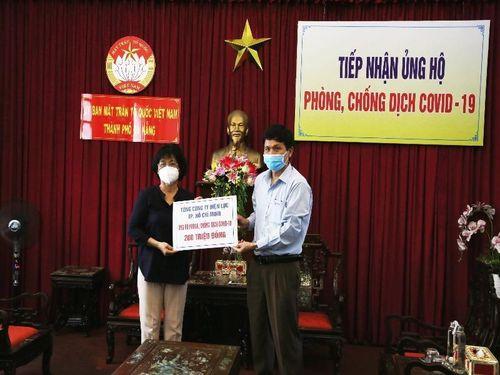 EVNHCMC ủng hộ Đà Nẵng chống dịch COVID-19