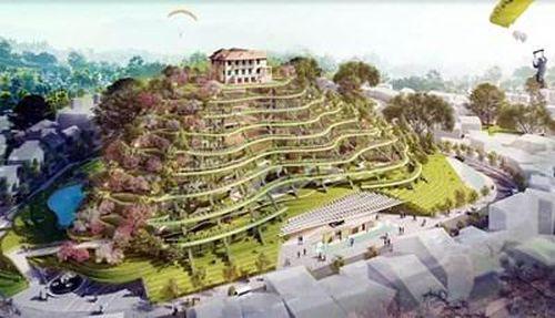 Đà Lạt lấy ý kiến phương án kiến trúc khu vực Dinh tỉnh trưởng