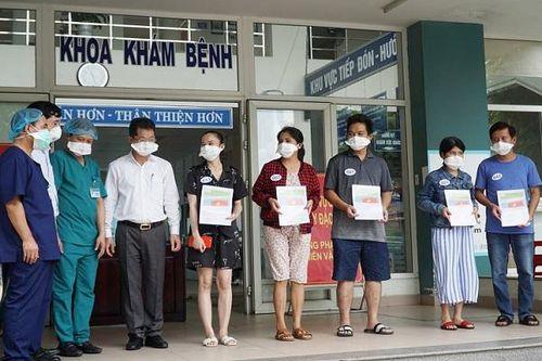 Thêm 5 bệnh nhân Covid-19 ở Đà Nẵng xuất viện