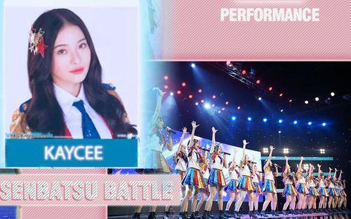 'Senbatsu Battle' tập 10: Kaycee vượt qua Ni Ni, trở thành Center trong single thứ 3 của SGO48