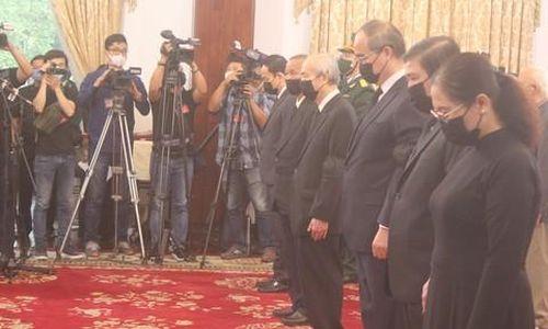 Lễ viếng nguyên Tổng Bí thư Lê Khả Phiêu tại TPHCM