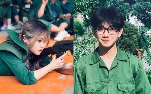 Loạt 'cực phẩm' tại kỳ học quân sự của Đại học Hà Nội