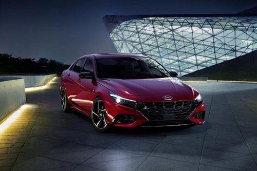 Hyundai Elantra N Line mới, thể thao và hầm hố hơn