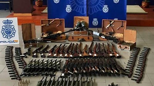 Chợ đen vũ khí trong lòng châu Âu