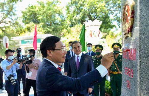 Các hoạt động Kỷ niệm 20 năm Việt Nam-Trung Quốc ký Hiệp ước Biên giới trên đất liền qua ảnh