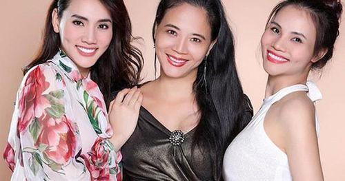 Hai cháu gái Trang Nhung cùng thi Hoa hậu Việt Nam