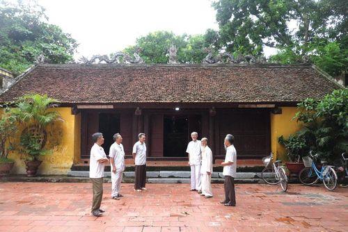 Bắc Ninh: Thăm di tích đình làng Cửu Yên