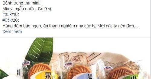 Bánh trung thu mini Trung Quốc chỉ 3,5 nghìn đồng/cái bán tràn lan: Chất lượng ra sao?