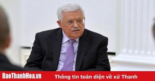 Tổng thống Palestine nêu yếu tố tạo nên hòa bình trong khu vực