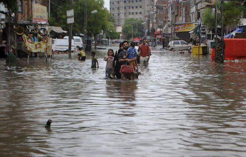 Pakistan: Mưa lớn gây thiệt hại nghiêm trọng về người và tài sản