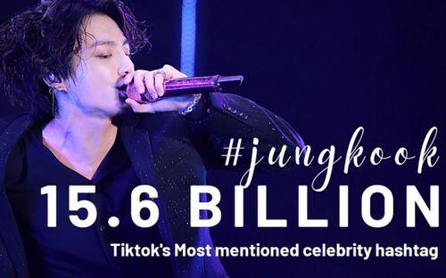 Jungkook (BTS) lập kỷ lục 'vô tiền khoáng hậu' trên TikTok dù không có tài khoản