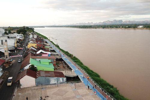 Ủy hội sông Mekong cung cấp thông tin cảnh báo lũ lụt và hạn hán trên Facebook