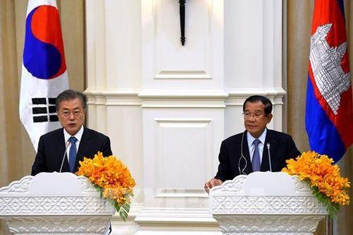 Hàn Quốc và Campuchia tổ chức vòng đàm phán FTA thứ hai