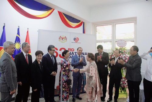 Đại sứ các nước tham gia Kỷ niệm 63 năm ngày Quốc khánh Malaysia tại Hà Nội