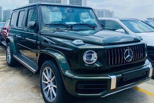 Cận cảnh Mercedes-AMG G63 2020 màu độc, hơn 10 tỷ về Việt Nam