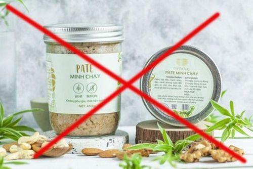 Yêu cầu làm rõ quá trình chứng nhận, công bố sản phẩm Pate Minh Chay
